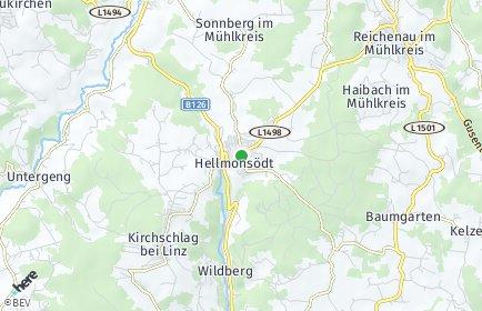 Stadtplan Hellmonsödt