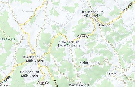 Stadtplan Ottenschlag im Mühlkreis