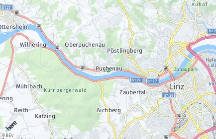 Stadtplan Puchenau