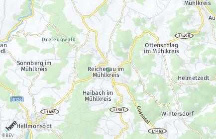 Stadtplan Reichenau im Mühlkreis