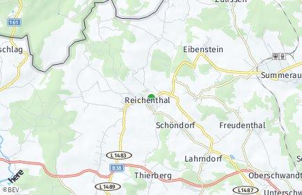 Stadtplan Reichenthal OT Miesenbach