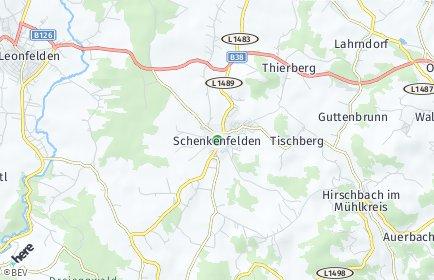 Stadtplan Schenkenfelden