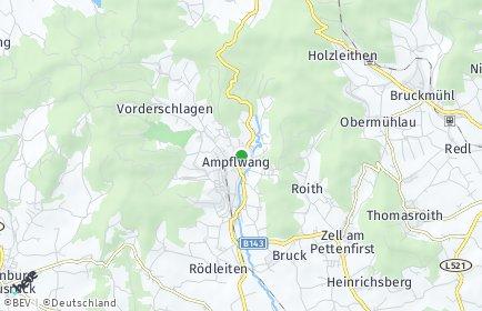 Stadtplan Ampflwang im Hausruckwald OT Aigen