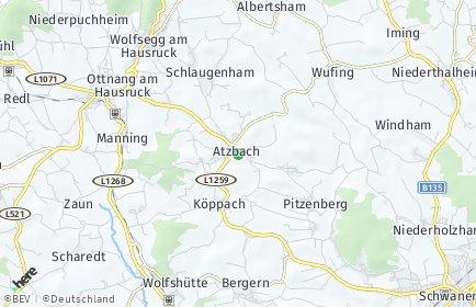 Stadtplan Atzbach