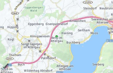 Stadtplan Berg im Attergau