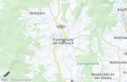 Stadtplan Frankenburg am Hausruck
