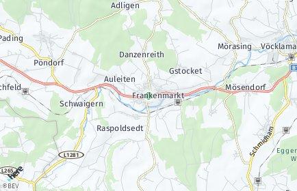 Stadtplan Frankenmarkt