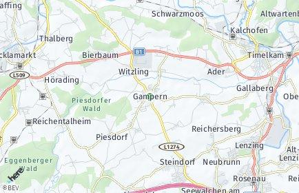 Stadtplan Gampern