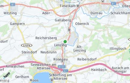 Stadtplan Lenzing