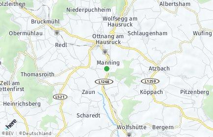 Stadtplan Manning