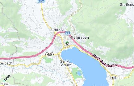 Stadtplan Mondsee