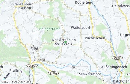 Stadtplan Neukirchen an der Vöckla