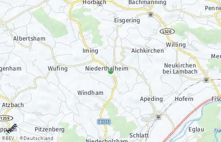 Stadtplan Niederthalheim