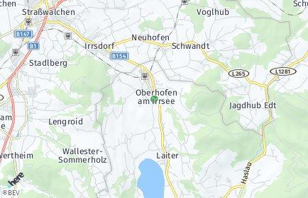 Stadtplan Oberhofen am Irrsee