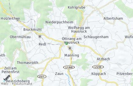 Stadtplan Ottnang am Hausruck