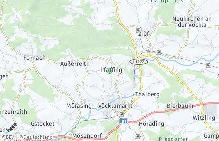 Stadtplan Pfaffing