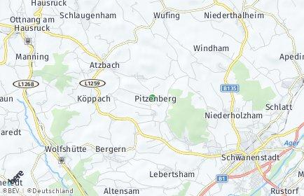 Stadtplan Pitzenberg