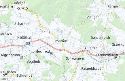 Stadtplan Pöndorf