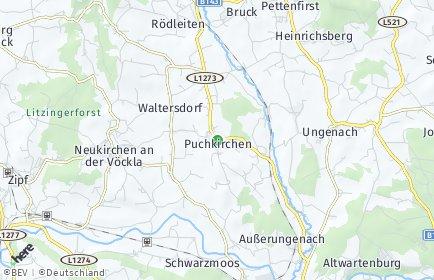 Stadtplan Puchkirchen am Trattberg