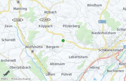 Stadtplan Rutzenham