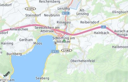 Stadtplan Schörfling am Attersee