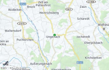 Stadtplan Ungenach