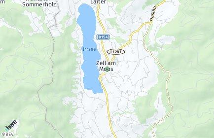 Stadtplan Zell am Moos