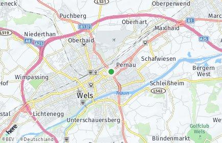 Stadtplan Wels-Land