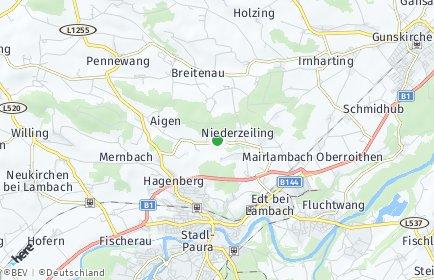 Stadtplan Edt bei Lambach