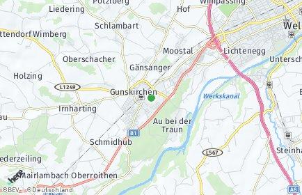 Stadtplan Gunskirchen