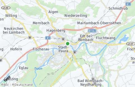 Stadtplan Lambach