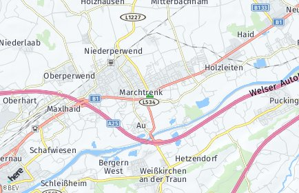 Stadtplan Marchtrenk OT Kappern