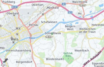 Stadtplan Schleißheim