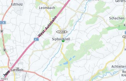 Stadtplan Sipbachzell