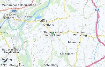 Stadtplan Steinerkirchen an der Traun