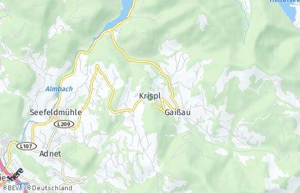Stadtplan Krispl