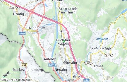 Stadtplan Puch bei Hallein