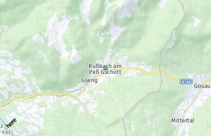 Stadtplan Rußbach am Paß Gschütt