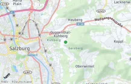 Stadtplan Salzburg-Umgebung