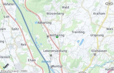 Stadtplan Anthering