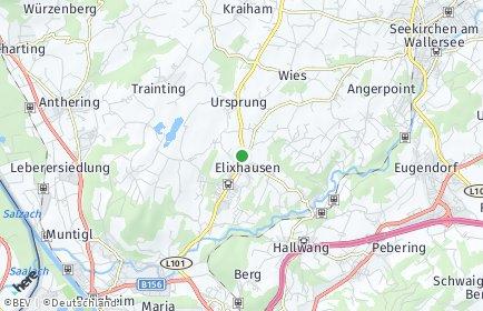 Stadtplan Elixhausen