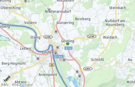 Stadtplan Göming