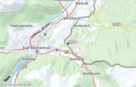 Stadtplan Großgmain