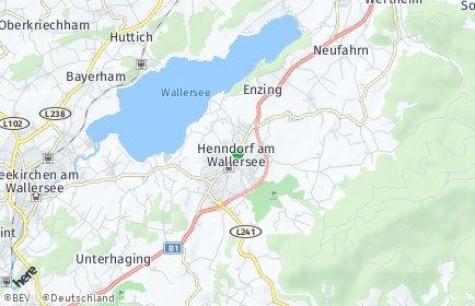 Stadtplan Henndorf am Wallersee