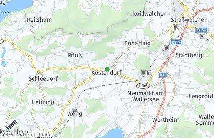 Stadtplan Köstendorf