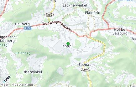Stadtplan Koppl OT Habach