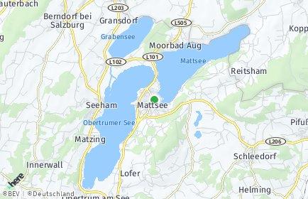 Stadtplan Mattsee