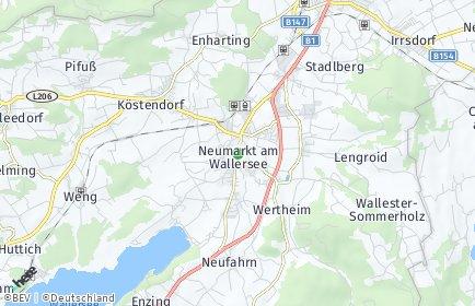 Stadtplan Neumarkt am Wallersee