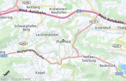 Stadtplan Plainfeld