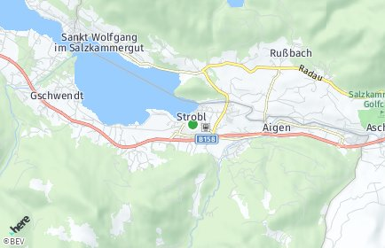 Stadtplan Strobl